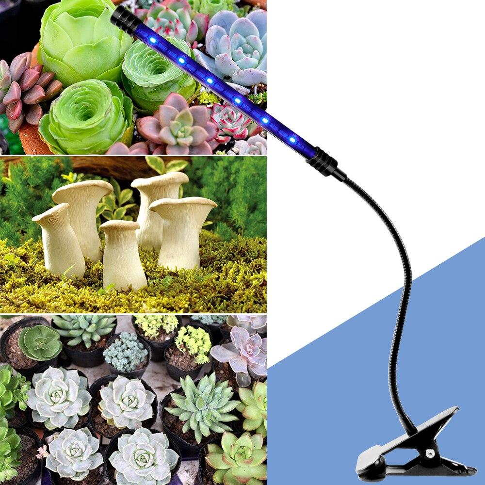 LED Growing Light 5V USB Led Plant Lamps Full Spectrum Led Phyto Lamp For Indoor Grow Tent Box Plants Flower Seedling Fitolampy