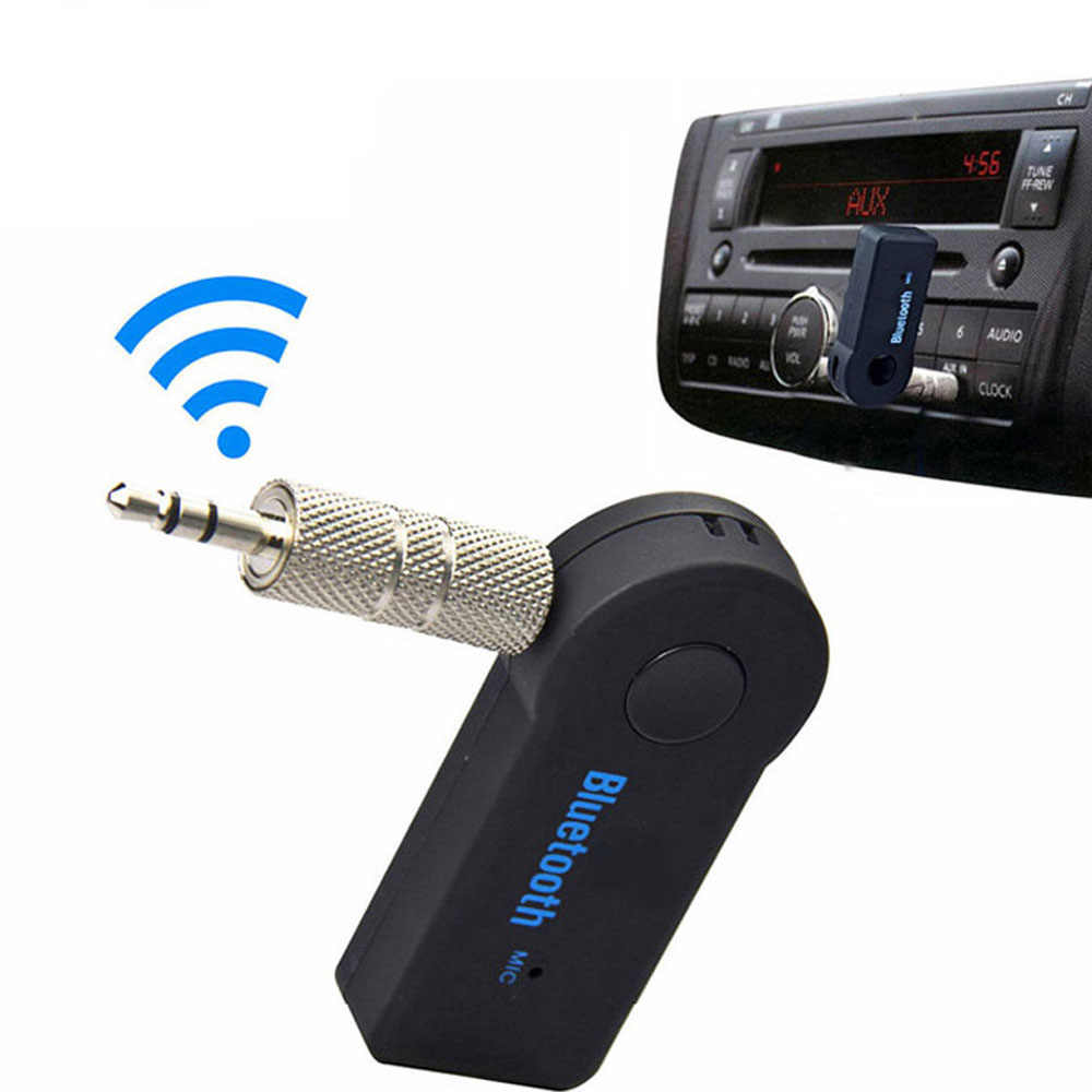 3.5mm Jack Audio Bluetooth 4.1 Car Receiver Wireless Adapter Transmitter Handsfree Phone Call AUX Music Receiver for Home TV MP3