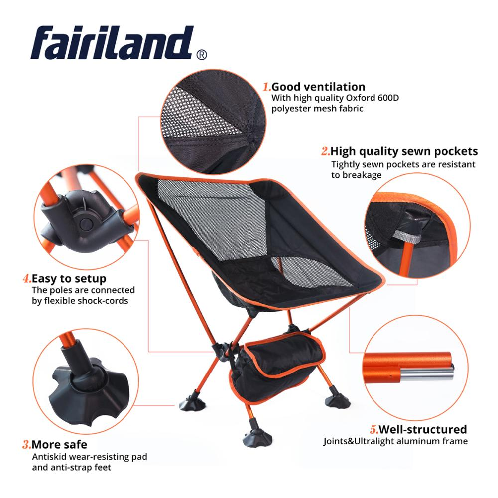 Moon-Chair Extended Hiking-Seat Lightweight Folding Ultralight Home-Furniture Office
