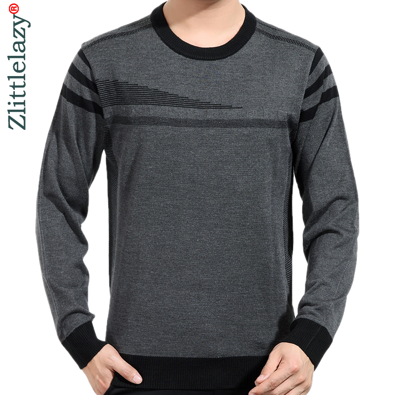 2019 Brand New Casual Thin Striped Knitted Pull Sweater Men Wear Jersey Mensluxury Pullover Mens Sweaters Male Fashions 81008