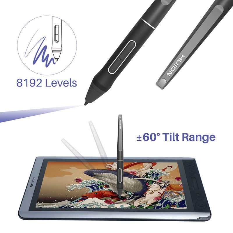 HUION KAMVAS GT-156HD V3 (Kamvas 16) Stift Display Monitor 15,6 inch Digitale Grafiken Zeichnung Tablet Monitor mit 8192 Ebenen