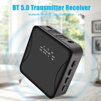 Bluetooth 5.0 Transmitter Wireless Audio Receiver w/Optical Toslink/AUX Vehicle Android IOS Mobile Phone and PAD Adapter