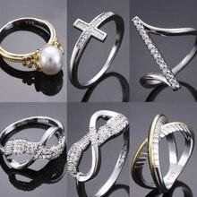 Nowe mody Temperament prosty nieregularny szlachetny wysoki zmysł pierścień kobieta panna młoda prezent mozaika biżuteria Street Style