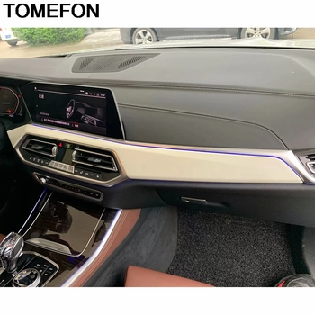TOMEFON For BMW X5 G05 2019 2020 LHD Car Front Middle Center Console Control Dashboard Panel Cover Trim Interior Accessories ABS