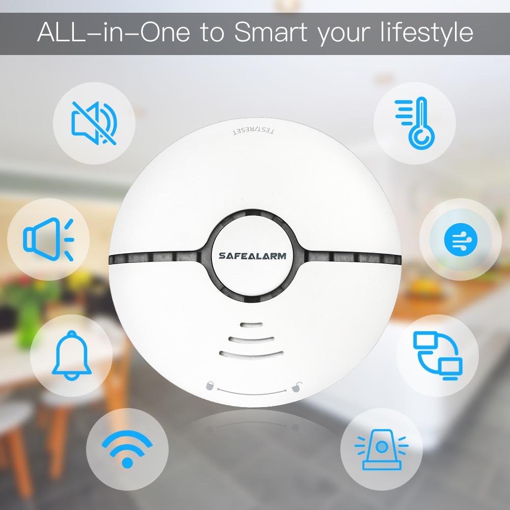 Wifi inteligente detector de alarme de incêndio