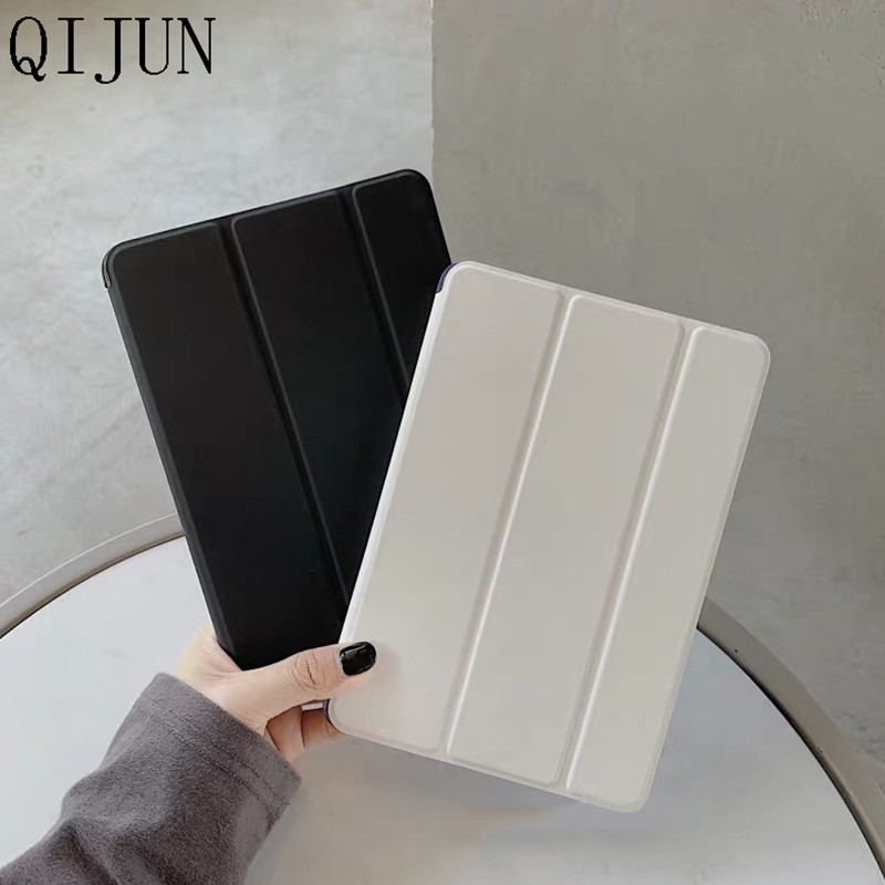 Tablet Case For iPad Air 4 10 9 2020 PU Leather Tri fold Cover For iPad