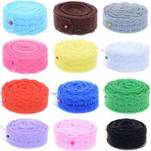 Lace Ribbon Roll Tape Clothing wedding dress jewelry Embroidered Net Lace Trim Fabric For Sewing Decoration vertical striped frill embroidered tape detail dress