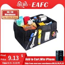 Caja de almacenamiento de coche impermeable caja de contenedor plegable multifunción Car Styling Trunk Bag Auto Interior contenedor organizador de almacenamiento