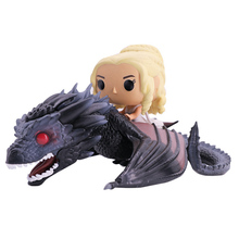 Daenerys Figure Game of Thrones Figures Separable 15 On Dragon Hot Toys