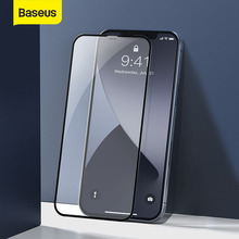 Baseus 2Pcs 0.23mm Tempered Glass For iPhone 12 Mini Full Cover Screen Protector For iPhone 12 Pro Max Glass Film For iPhone 12