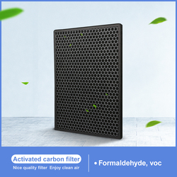 Activated carbon Filter For Xiaomi mjxfj-300 Replacement Fresh Air System Cylindrical Air Vent 302*166*58mm
