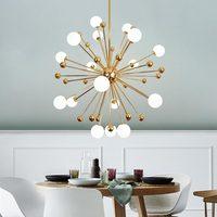 Glass Led Lamp Modern Design Chandelier Ceiling Living Room Bedroom Dining Room Light Fixtures Decor Home Lighting G4 110V 220V