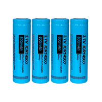 4PCS PKCELL ICR 14500 batterie 3,7 v 800mah AA li-ion batterie 14500 lithium-akkus für led taschenlampe