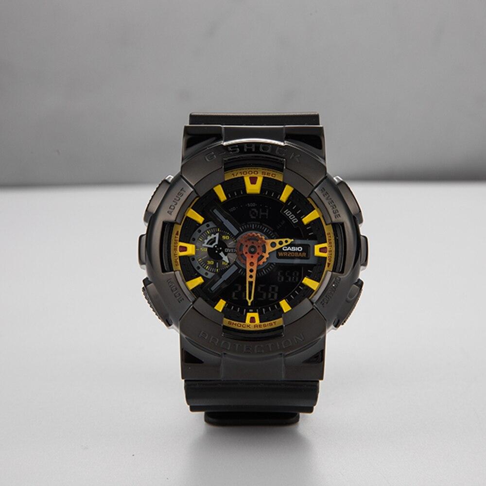 316L นาฬิกาสแตนเลสและสายสำหรับ Casio GA 100/110/120 GD 100/120 GLX 100 นาฬิกาสำหรับ GW 9400 GX 56 GWX 56 กรณี-ใน สายนาฬิกา จาก นาฬิกาข้อมือ บน   1