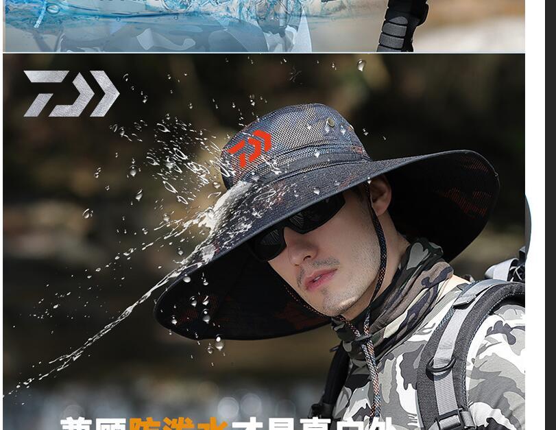 água e à prova de vento boné