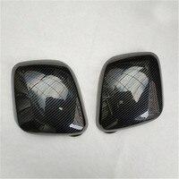 Alta qualidade abs espelho retrovisor capa guarnição/espelho retrovisor decoração para nissan nv200 2 pçs estilo do carro