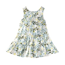 New 2-7Y Girls Dress Summer Brand Girls Clothes Lace And Ball Design Baby Girls Dress Party Dress For 3-8 Years Infant Dresses new lace girls dress retro embroidery long sleeve christmas clothes girls party dress teenagers princess dress 3 13 years ca341