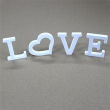 4 шт/1 комплект украшение для дома любовь буквы подарок на день
