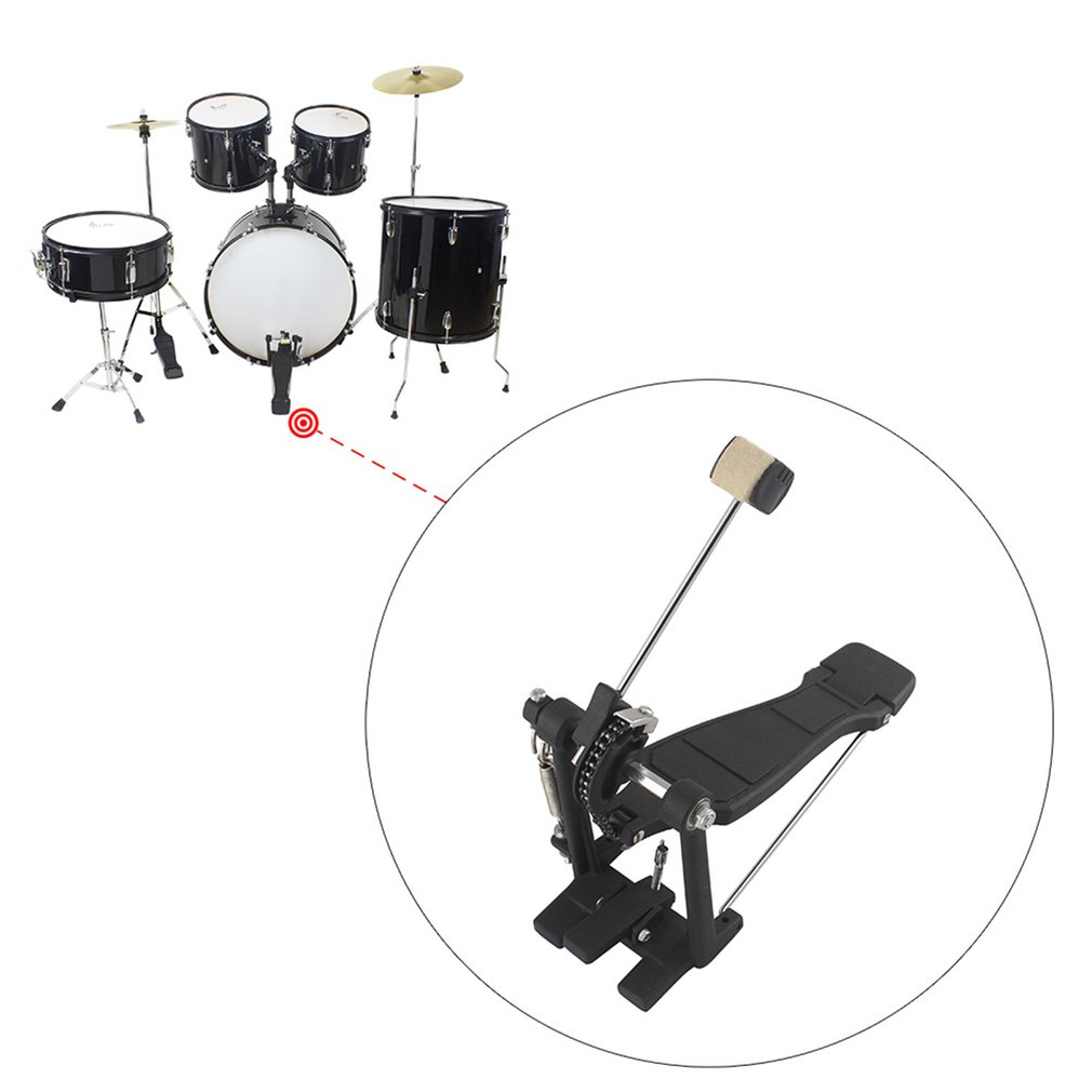 1PC Drum Beater Pedal Bass Kick Hammer Felt Percussion Beats Head Drummer Instrument Parts Accessories image