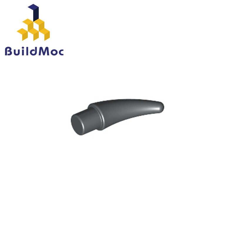 Buildmoc Kompatibel untuk Lego53451 Barb/Cakar/Horn-Kecil untuk Bangunan Blok Bagian Diy Pendidikan Tech Bagian Mainan