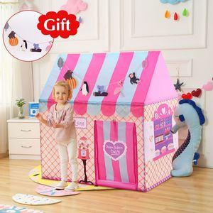 YARD Kids Toys Tents Kids Play Tent Boy Girl Princess Castle Indoor Outdoor Kids House Play Ball Pit Pool Playhouse(China)