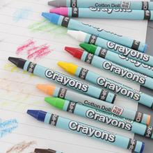 Adeeing 8/12 Colors Non-toxic Crayons Set for Kids Drawing Painting School Supplies Random Color d20