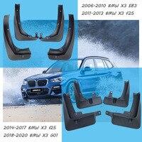 Für BMW X3 E83 F25 G01 Kotflügel X3 E83 F25 G01 Schlamm klappen bmw E83 F25 G01 auto Kotflügel splash wachen auto zubehör 2006-2019