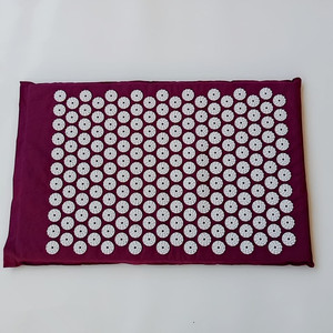 Image 4 - Massager Cushion(62*38cm) Acupuncture Sets Acupressure Mat with Pillow Massage Mat  Massage and Relaxation