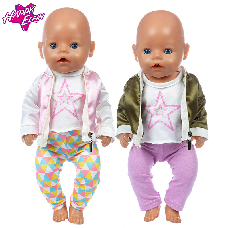 2020 New Dolls Suit Fit For 43cm New Born Doll 17inch Reborn Baby Doll Accessories