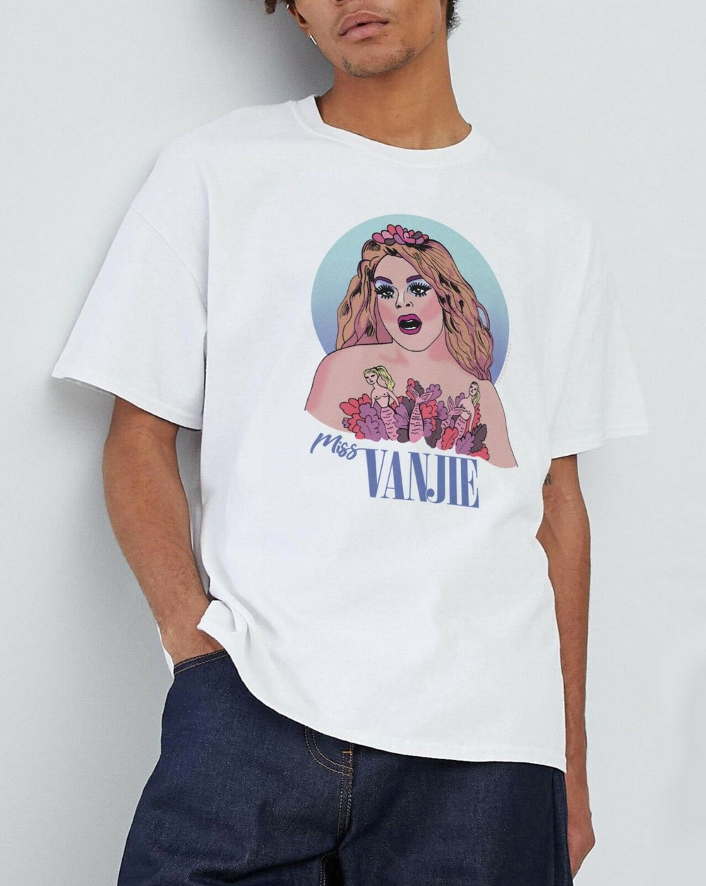 Details about  /Name Is Vanjie Unisex T-Shirt TopLGBTQ Off Duty Drag Queen Queer Slogan Fan