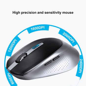 JOYACCESS Russian Wireless Keyboard Mouse Set Ergonomic Mouse PC Mause Silent Button Keyboard and Mouse Combo 2.4G for Laptop PC 3