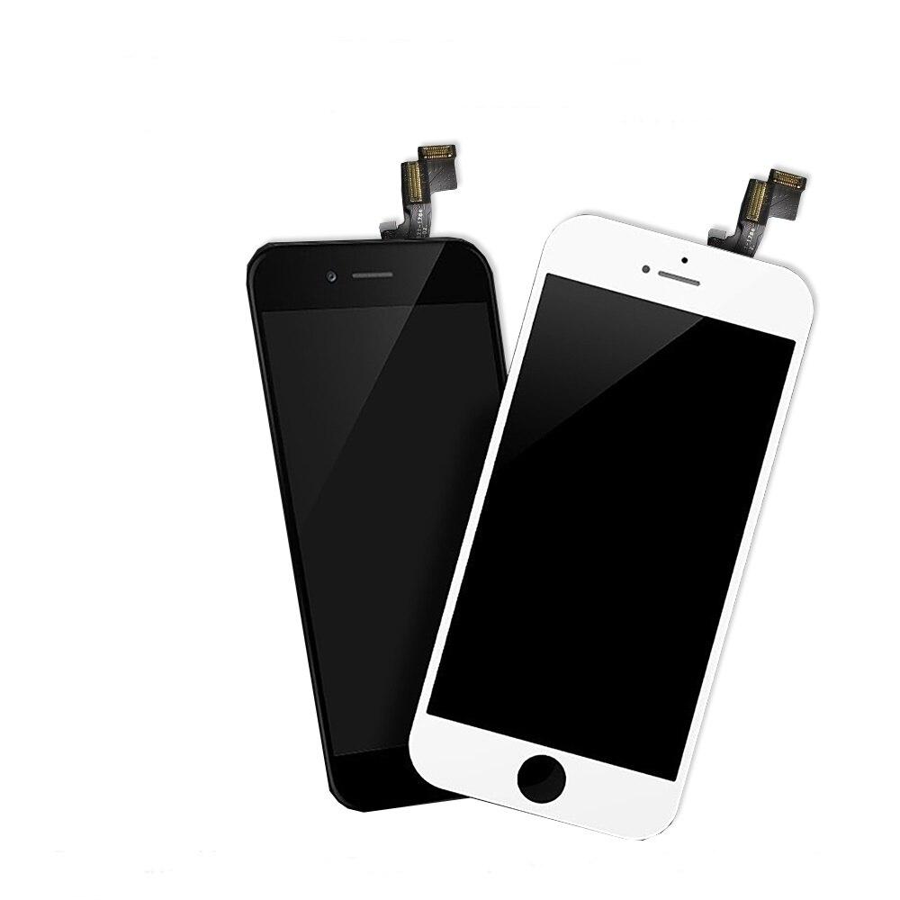 Image 2 - Черный ЖК дисплей Pantalla для iPhone 5G A1428 A1429 A1442, замена дисплея, 3D сенсорный экран без битых пикселей + закаленная пленка + подарок-in Экраны для мобильных телефонов from Мобильные телефоны и телекоммуникации on