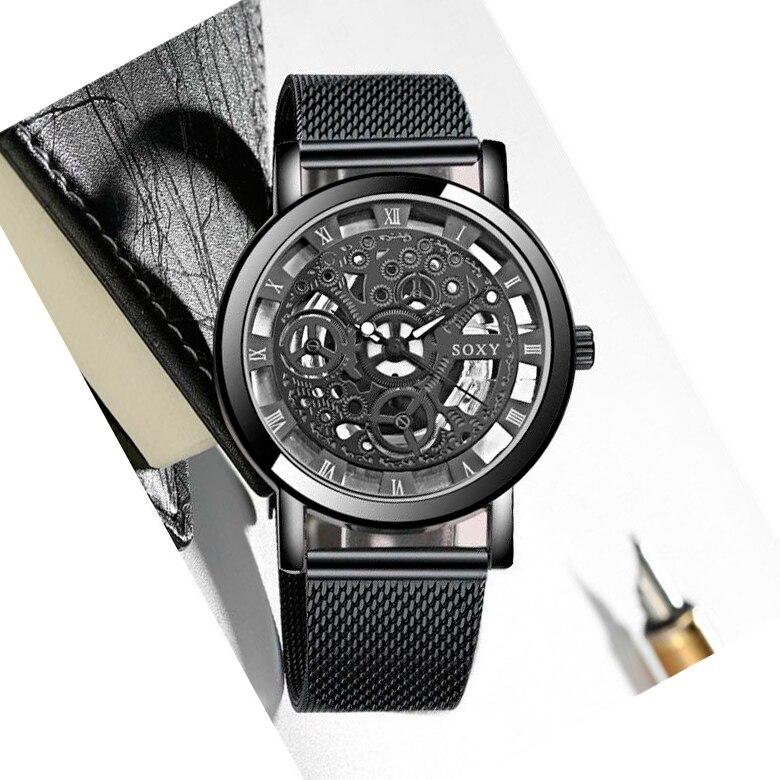 Relógio de negócios masculino de luxo relógio