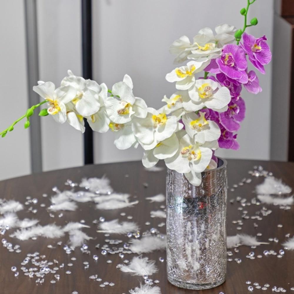 орхидея искусственная орхидея орхидеи из латекса Искусственный цветок фаленопсис, Шелковая бабочка, искусственный цветок для самостоятел...