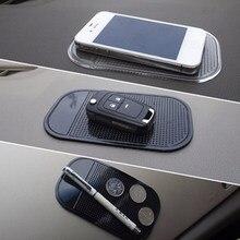 Alfombrilla antideslizante para teléfono móvil, accesorios para Interior de automóviles, Mp3mp4, GPS, para coche