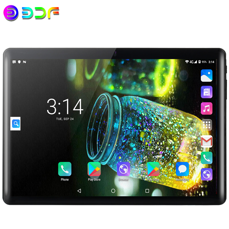 2020 Best-selling 10.1 Inch Tablet PC Android 7.0 3G Phone Call Quad Core Google Play CE Brand Dual SIM Cards WiFi Tablets