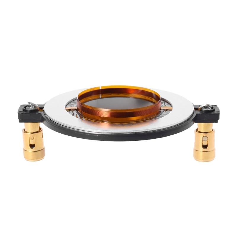 2020 New Audio Speaker Titanium Film 34.4 34.5 Core Treble Voice Coil Reel Tweeter Accessory