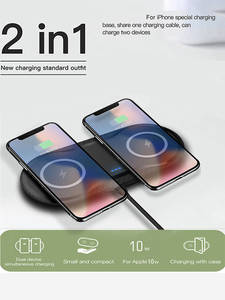 Charger-Pad Dock-Station Fast-Charging Note-9 iPhone 11 Samsung S10 Wireless 20W