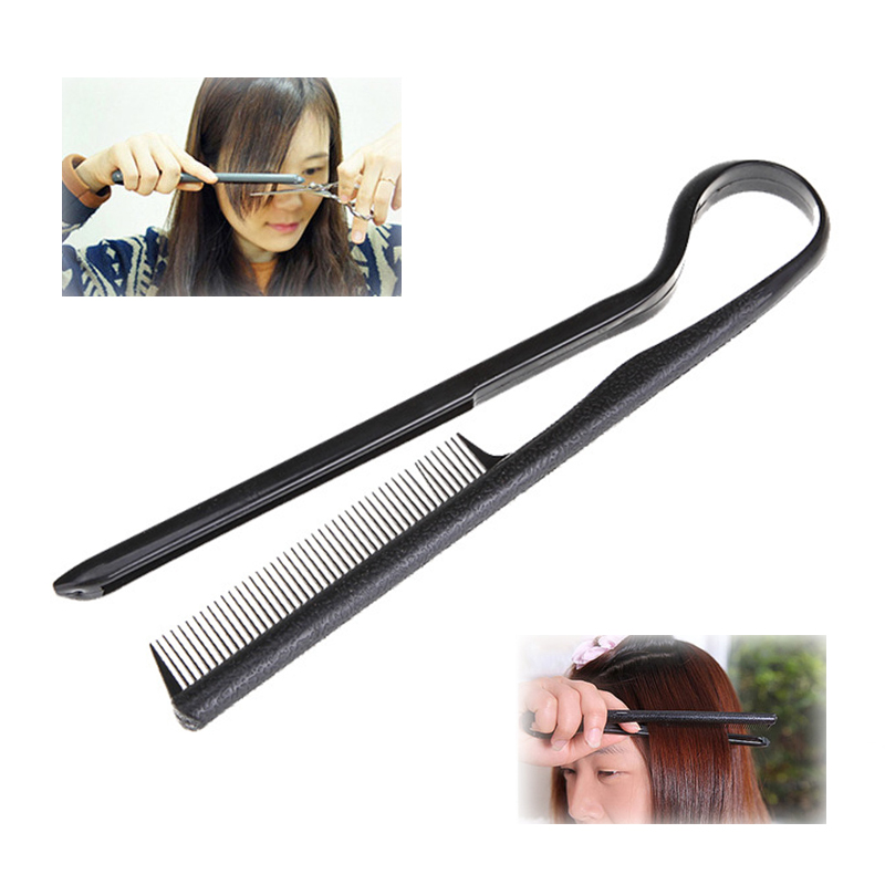 Useful Hair Straighten Salon Comb Hairdressing Smooth Tool Hold Tongs Hair Styling Tools For Women