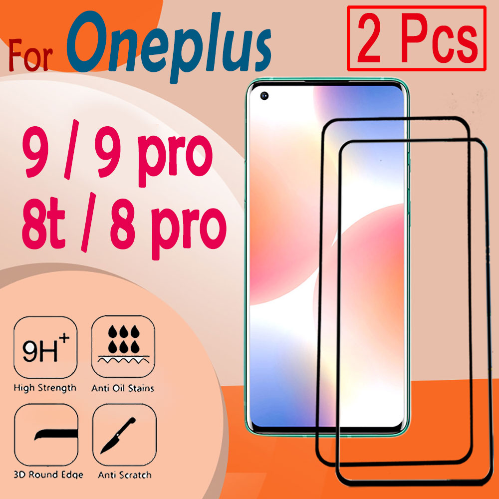 Screen protector for Oneplus 8 pro glass one plus 8t 9 9pro oneplus9 protection 8pro glas tempered film