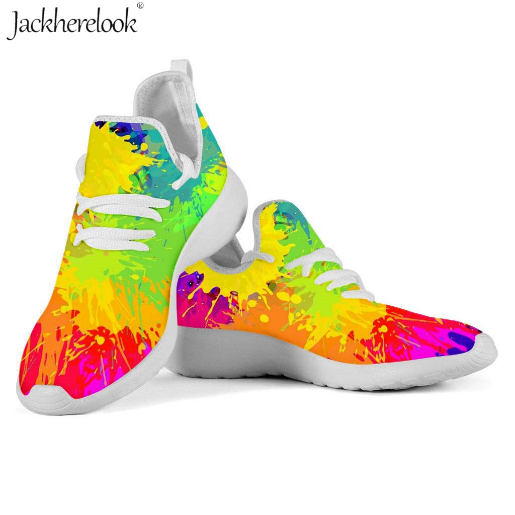 Wear-Resistant Climbing Sneaker Gay Pride Rainbow Flag Black Mens Unique Athletic Running Shoes