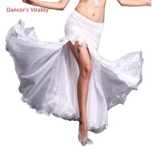 Image 1 - Rumba,Cha cha dance skirt girls belly dance clothes skirt luxury velvet  of skirt sexy fashion dress of women belly dance skirt