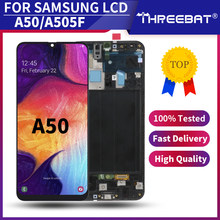 Super AMOLED For Samsung Galaxy A50 A505 LCD Display Touch Screen Digitizer Assembly For Samsung A505 SM-A505FN/DS A505F/DS Lcds