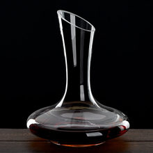 1100 мл превосходное плоское основание Декантер для красного вина ручной работы кристалл вино Pourer Премиум воды графин утолщенной стены