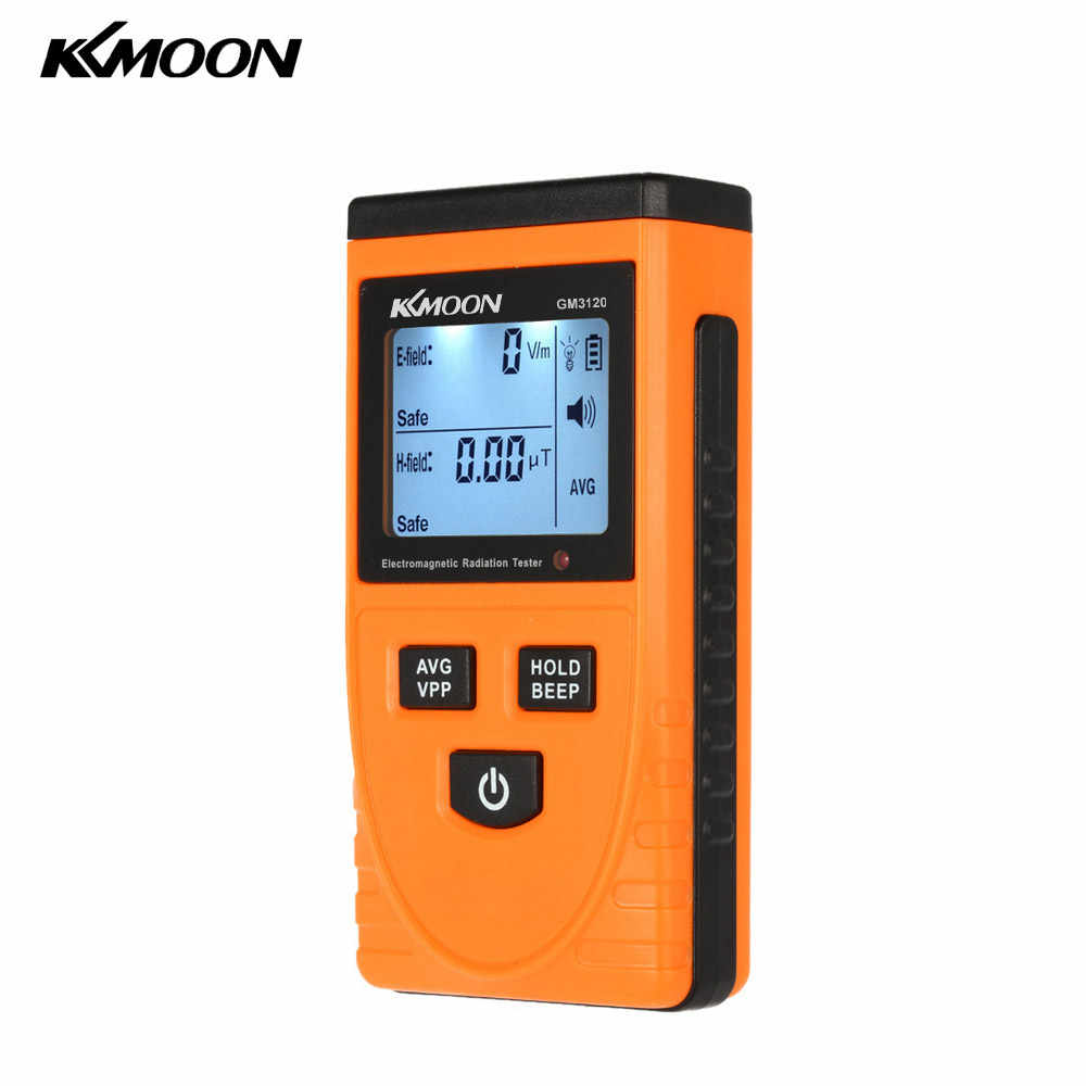 Digital Electromagnetic Radiation Detector Meter Dosimeter Tester Counter for electric field radiation magnetic field emission