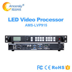 AMOONSKY LVP915 same LED video processor Vdwall 605 lvp615 support 2 pc linsn ts802d novastar msd300 colorlight s2 led sender