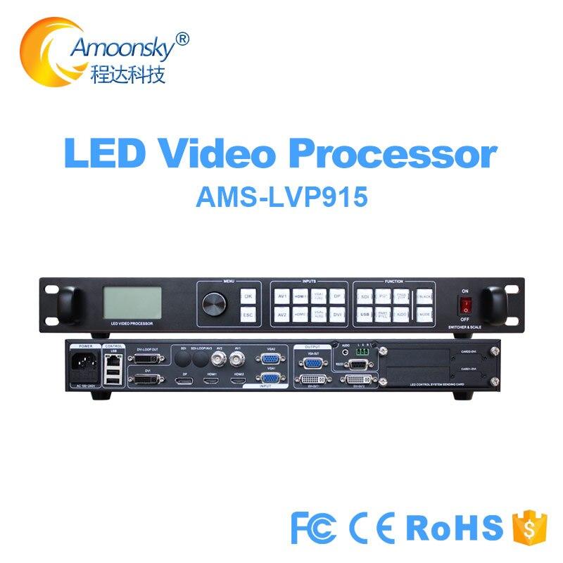 Полноцветный светодиодный контроллер Lvp915 pip аналогичный vdwall lvp605 615 светодиодный видеопроцессор для p2 p4 p2.5 p3.91 p10 p16 светодиодный модуль диспл...