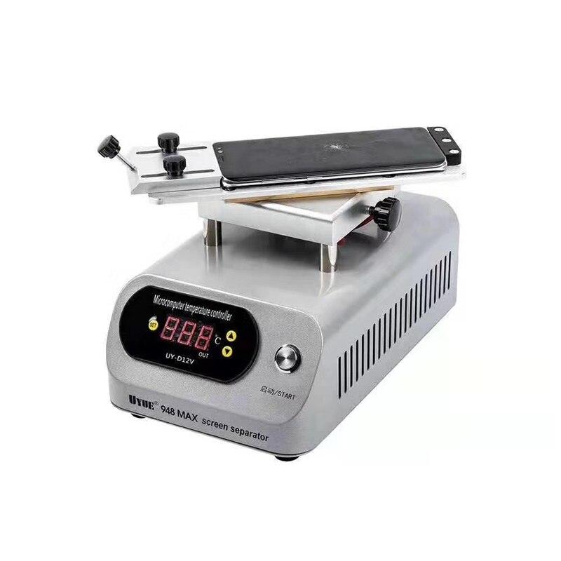 Hot Plate LCD Separator Rotable Glass Separating Machine Build in Pump for Flat Edge Screen Repalce Mobile Phone Repair Machine|Screen Seperator Machine| |  - title=