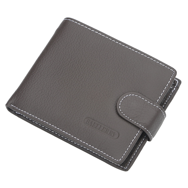 Wallet Men Leather Wallets Male Purse Money Credit Card Holder Genuine Coin Pocket Brand Design Money Billfold Maschio Clutch