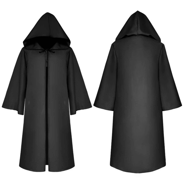 Besegad костюмы на Хэллоуин накидка волшебника для взрослых Маскарад на Хэллоуин Косплей демон вампир вечерние костюмы плащ Длинный плащ-мантия